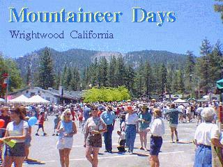 wrightwood mountaineer days celebration and parade photo tour